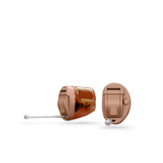 Oticon_Invisible_in_canal_IIC_hearing_aid_in_Beige__Red_Transparent