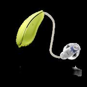 Oticon_Pro_DesignRITE_hearing_aid_PaleLime