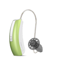 Widex_Unique_Passion_hearing_aid_LimeGreen