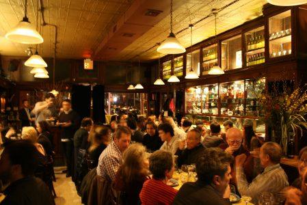 crowded restaurant